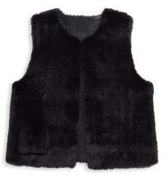 Imoga Little Girl's & Girl's Reversible Vest