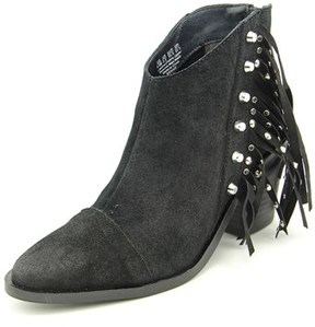 Fergie Bennie Pointed Toe Suede Ankle Boot.