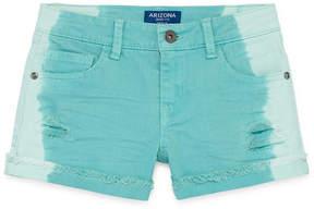 Arizona Dip Dye Denim Shortie Shorts Girls 4-16 and Plus