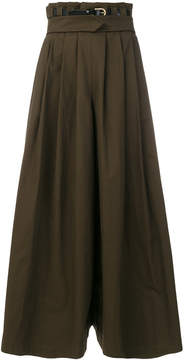 Capucci flared maxi skirt