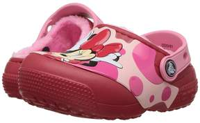Crocs FunLab Lined Minnie Clog (Toddler/Little Kid)