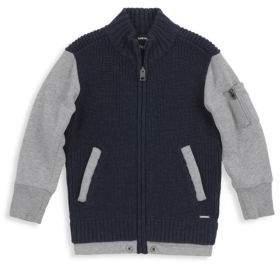 Diesel Toddler's and Little Boy's Kelk Two-Tone Sweatshirt
