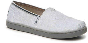 Toms Girls Alpargata Toddler & Youth Flat