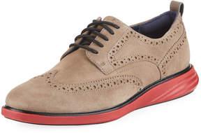 Cole Haan Men's Grand Evolution Suede Sneakers, Brown