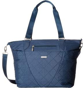 Baggallini Quilted Avenue Tote with RFID Wristlet