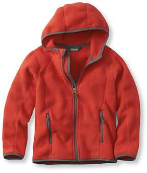L.L. Bean Boys' Trail Model Fleece Jacket, Hooded