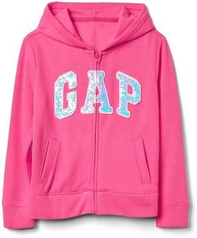 Gap Flippy Sequin Logo Hoodie Sweatshirt