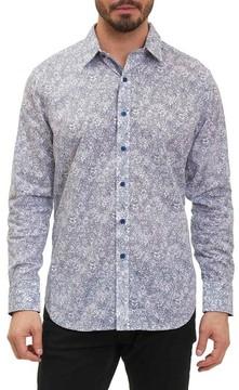 Robert Graham Men's Moss Landing Classic Fit Floral Print Sport Shirt