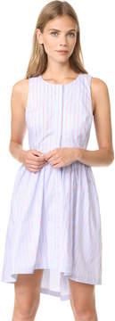 J.o.a. Stripe Button Down Dress