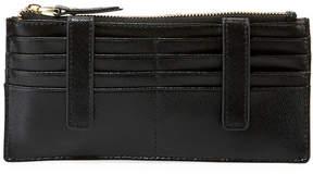 Neiman Marcus Slim Saffiano Leather Charging Credit Card Organizer