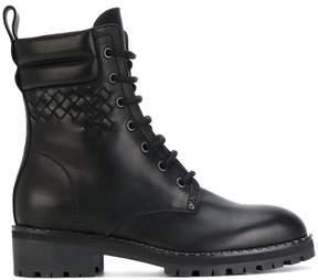 Bottega Veneta lace-up chunky boots