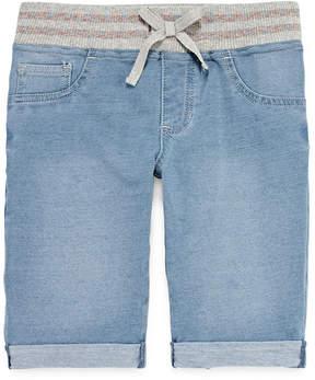 Arizona Curvy Fit Knit Bermuda Shorts - Big Kid Girls Plus