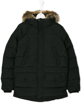 Finger In The Nose classic padded coat
