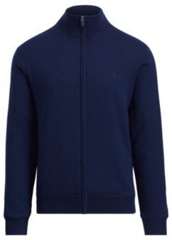 Ralph Lauren Merino Wool Full-Zip Sweater French Navy S