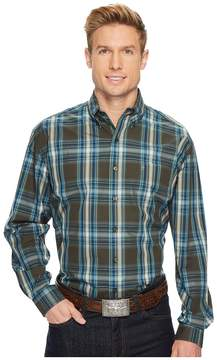 Stetson 1172 Mineral Plaid Men's Long Sleeve Pullover