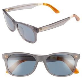 Toms Men's Beachmaster 55Mm Sunglasses - Matte Slate Grey