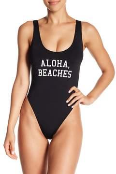 Bikini Lab The Statement One-Piece Swimsuit