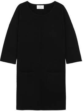 Allude Wool Mini Dress - Black