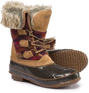 Khombu Julliard Duck Boots - Waterproof, Insulated (For Women)