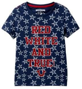True Religion Red, White, & True T-Shirt (Little Girls)