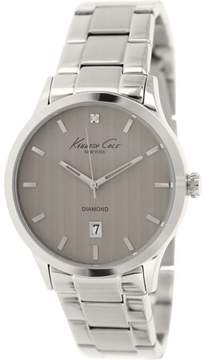 Kenneth Cole Men's Dress Sport KC9368 Silver Stainless-Steel Quartz Fashion Watch