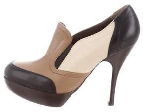 Marni Platform Leather Booties