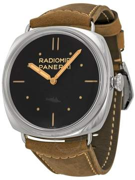 Panerai Radiomir SLC 3 Days Mechanical Black Dial Men's Watch