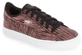 Puma Toddler 'Basket Tiger' Sneaker