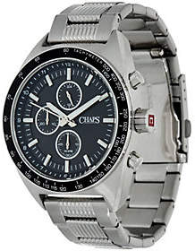 Chaps Men's Stainless Steel Chronographic Watch - Rockton
