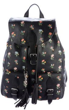 Saint Laurent Praire Festival Backpack - BLACK - STYLE