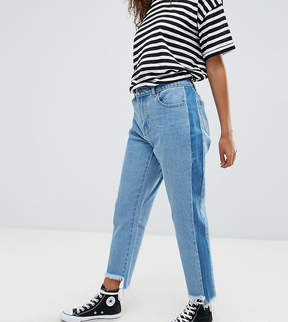 Brave Soul Petite Tamsin Jeans with Raw Step Hem
