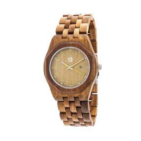 Earth Wood Unisex Green Bracelet Watch-Ethew5504