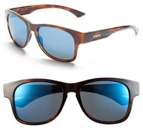 Smith Women's 'Wayward' 54Mm Polarized Sunglasses - Havana/ Polar Blue Mirror