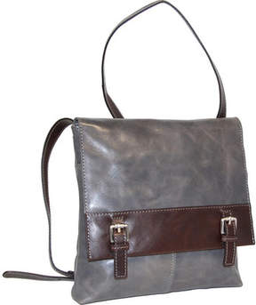 Nino Bossi Day Lily Petal Leather Crossbody (Women's)