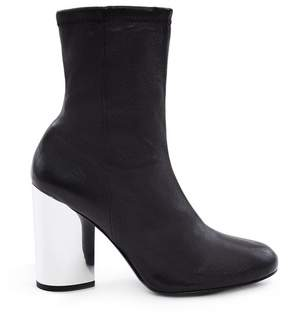 Opening Ceremony | Zloty Stretch Leather Boots | 11 us | Black