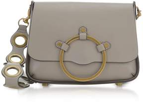 Rebecca Minkoff Taupe Leather Ring Shoulder Bag - TAUPE - STYLE