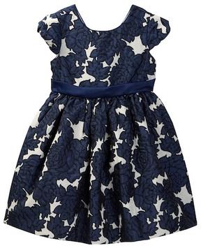Iris & Ivy Floral Brocade Dress (Toddler & Little Girls)