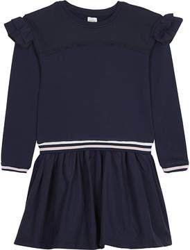 No Added Sugar Frilled sweatshirt dress 4-12 years