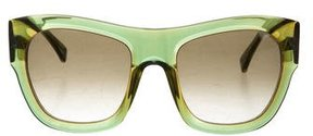 Vera Wang Floressa Oversize Sunglasses