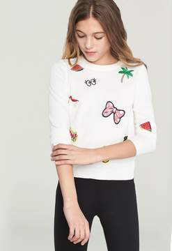 Milly MINIS PATCH PULLOVER