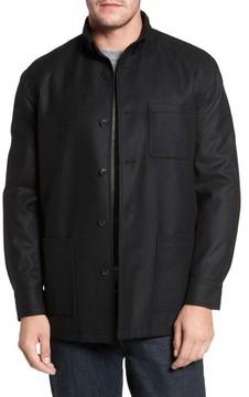 David Donahue Men's Loro Piana Storm System Shirt Jacket