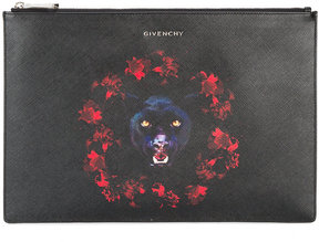 Givenchy Iconic Pouch With jaguar print