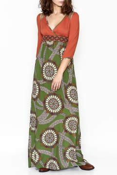 Flying Tomato Autumn Boho Maxi Dress