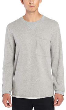 ATM Anthony Thomas Melillo Raw Cut Crew Neck Sweatshirt (Men's)