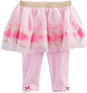 Baby Starters Baby Girl Scalloped Tutu Leggings