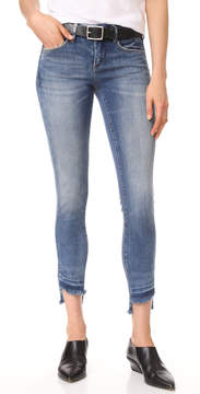 Blank Step Hem Skinny Jeans