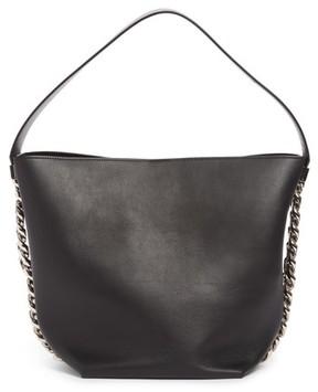 Givenchy Infinity Calfskin Leather Bucket Bag - Black