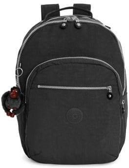 Kipling Seoul Large Laptop Backpack - BLACK - STYLE
