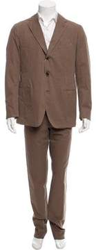 Piombo Deconstructed Three-Button Suit