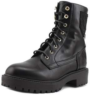 Coolway Harlen Round Toe Leather Combat Boot.